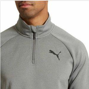 Puma Shirts - Puma Men's Essential Active ¼ Zip Active Runner Pu